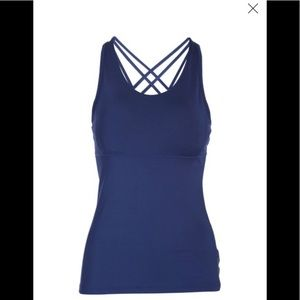 NWT Head athletic active wear tank top cross strap